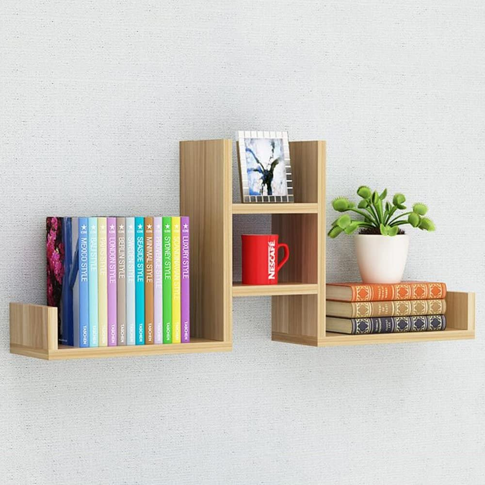 Yxsd Creative Max 70% OFF Award Wooden Wall Racks R Non-Perforated Living 4-Story