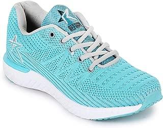 REFOAM Women's Sea Green Mesh Running Sport Shoes