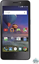 ZTE Midnight Pro 4 LTE Black SIMPLE MOBILE with 8GB Memory Prepaid Cell Phone Smartphone