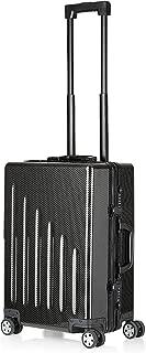 Safedome Genuine Carbon Fiber Premium Carry-On, Luggage, Suitcase - Aviation Grade Carbon Fiber