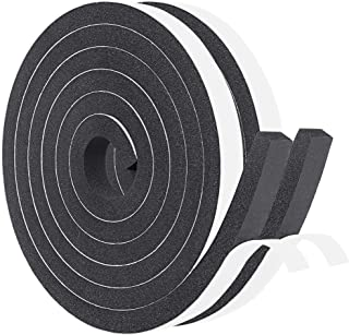 Window Insulation Weather Stripping 2 Rolls 1/2 Inch Wide X 1/2 Inch Thick, Closed Cell..