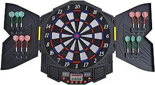 HOMCOM Diana Electronica Digital + 12 Dardos 8 Jugadores 27 Juegos 216 Variantes Sonido