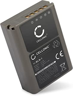 2x premium patonas para bateria bln-1 para Olympus OM-D e-m5 LCD dual cargador