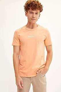 DeFacto Baskılı Slim Fit T-shirt