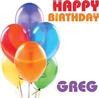 Best happy birthday greg Reviews