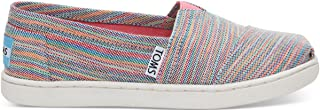TOMS Grey Wool Polka Dots Youth Classic 10009275