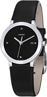 Rado Cetrix Jubile Women's Black Dial Casual Watch Leather Strap - r30928715
