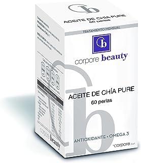 Corpore Beauty Perlas de Aceite de Chía - 60 Cápsulas