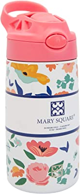 Mary Square 13 Ounce Snack Time Happy Day Kids Stainless Bottle