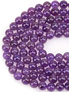 2Strd Natural Amethyst Drop Beads Smooth Gems Loose Spacer Beads Craft 16x10.5mm