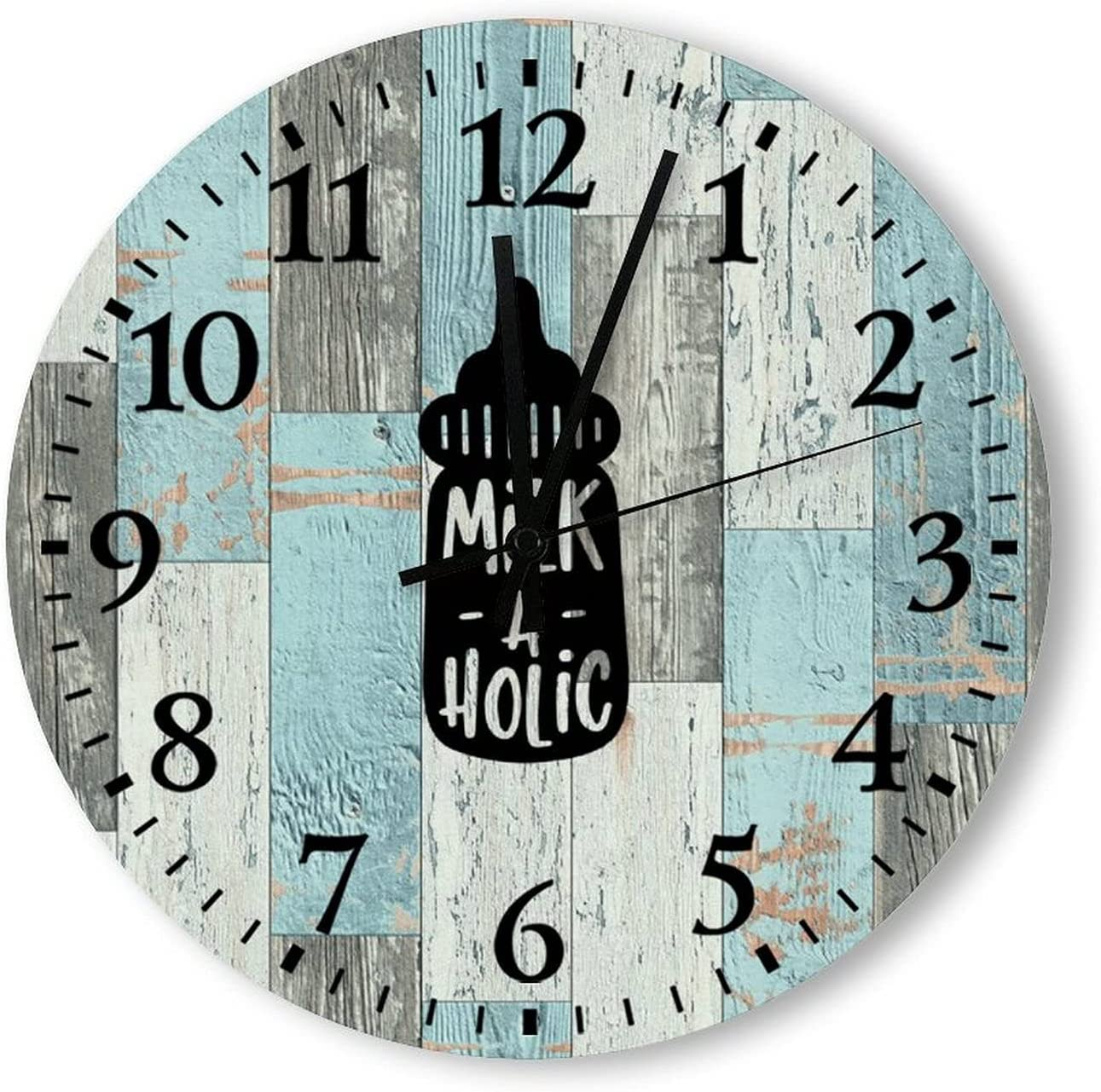 by Unbranded Hanging Wall Clock Babies Baby Milkaholic Newbo Beauty products Max 84% OFF