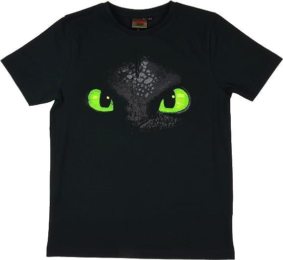 DreamWorks Dragones Camiseta Desdentao Toothless Cara,