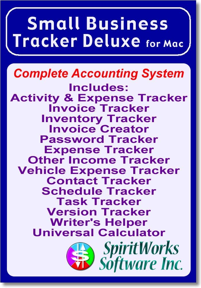 Small Beauty products Business Tracker Deluxe Limited price Mac Download for