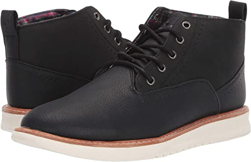 Black PU Leather