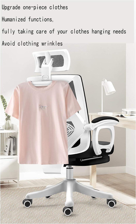 Chaise Ergonomique Bureau, Chaise de Bureau Ordinateur avec Flip-Out et Soutien Accoudoirs Taille réglable en Hauteur, Noir black2 Black2