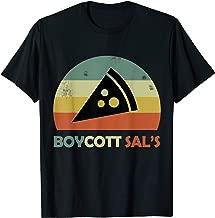 Vintage Boycott Sal's Pizza Funny Meme T-Shirt