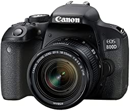 Canon EOS 800D 24.2MP Digital SLR Camera + EF-S 18-55 mm is STM Lens + 16GB Memory Card + Carrycase
