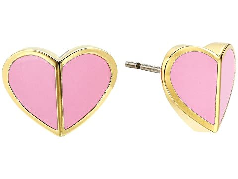 Kate Spade New York Heritage Spade Small Heart Studs Earrings