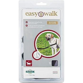 PetSafe Easy Walk Harness for Dogs, Large, Black/Beige , 1.8 m Lead