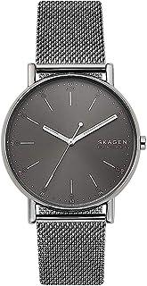 Skagen Signatur Men's Grey Dial Stainless Steel Analog Watch - SKW6577
