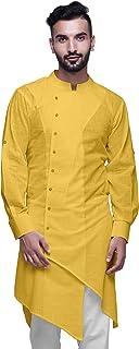 Atasi Cotton Flex Designer Button Down Kurta For Men Casual Summer Wear Kurtas