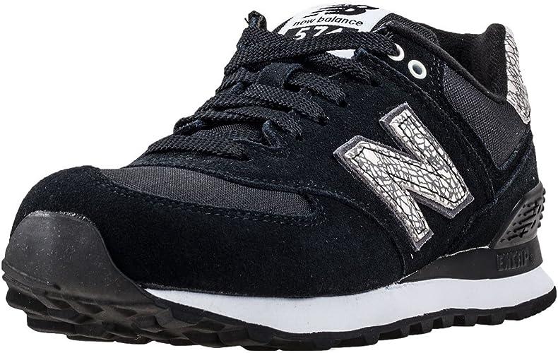 New Balance 574, Sneaker Donna, Nero (Black), 4 UK EU : MainApps ...