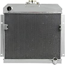 ALLOYWORKS 4 Row Aluminum Radiator for Dodge Royal Panel Pickup Truck 53-54 L6/V8 Engines