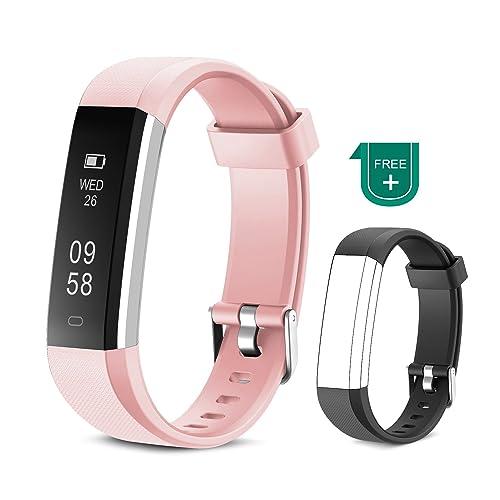 6ad50a1f24a3 Muzili Pulsera de Actividad Inteligente Fitness Tracker Impermeable Pulsera  Actividad Reloj Deportivo con Podometro Monitor