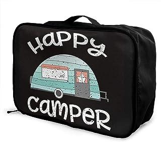 Travel Duffel Bag Waterproof Fashion Lightweight Large Capacity Portable Luggage Bag Sea Glass