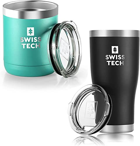 lowest SWISS+TECH 20 oz Tumbler and SWISS+TECH 10 popular lowest oz Tumbler Double Wall Vacuum Insulated Tumbler outlet sale