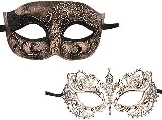 venetian mask gold