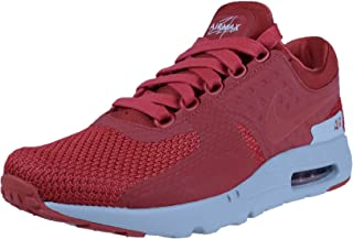 Nike AIR MAX 1 ESSENTIAL Men's Shoe 537383 116 WHITEBLCK UNIVERSITY RED sz 8