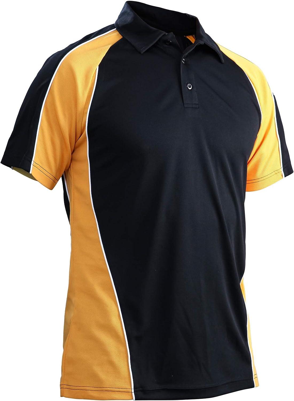 MAGCOMSEN Men's Outdoor Golf Polo Short Dr Button San Antonio online shopping Mall Quick Sleeve 3