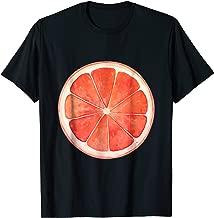 Grapefruit slice fruit Halloween costume cute vegan t-shirt
