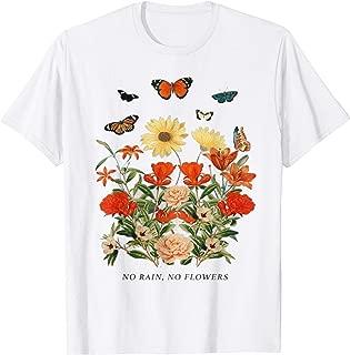 Cute No Rain No Flowers Women T-Shirt