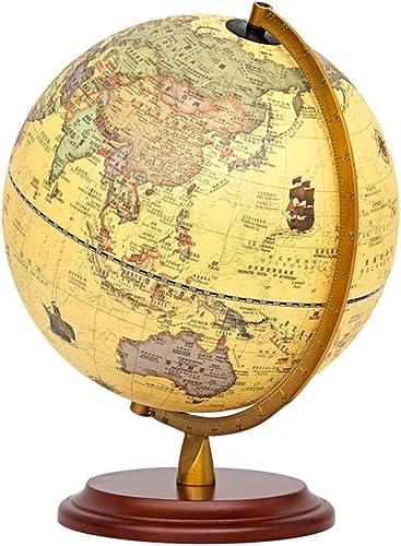 ZDDAB 25 CM Monde Globe Terrestre Haute Définition Mondiale, Adapté Pour Les Cadeaux Et L'enseigneHommest De La Décoration à La Maison Fournit Des Cadeaux De Vacances éducatifs Pour Enfants