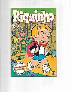 Riquinho #146 1979 Brazilian Richie Rich Back Pack Full Of Cash Cover