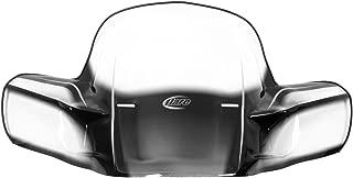 Front - Black - Fixed KIMPEX ATV Windshield GEN 2