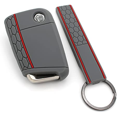 Schlüssel Hülle Keytag Vb Für 3 Tasten Auto Schlüssel Elektronik