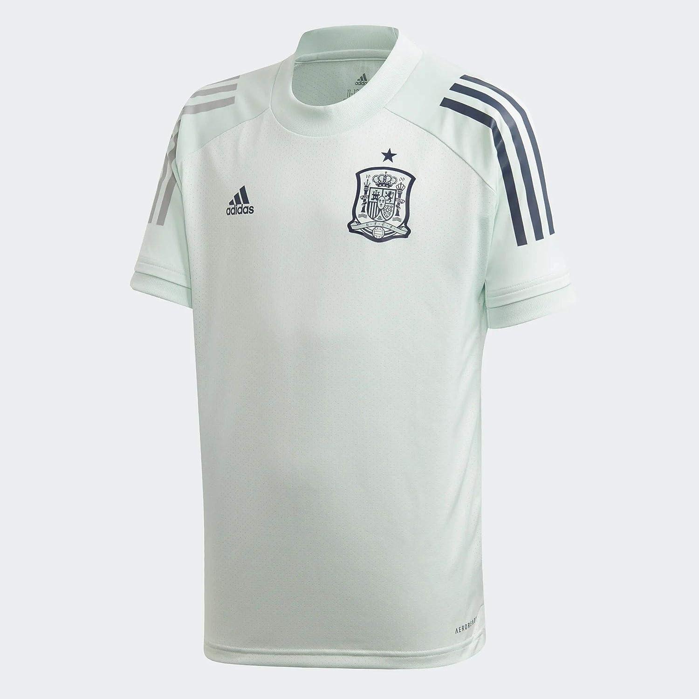 Amazon.com : adidas 2020-2021 Spain Training Jersey (Dash Green ...