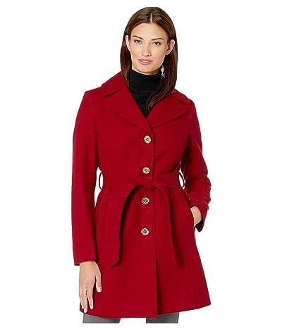 MICHAEL Michael Kors Wrap Belted Wool M121950TZ (Red) Women