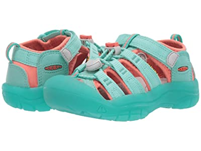 Keen Kids Newport H2 (Toddler/Little Kid) (Cockatoo/Coral) Girls Shoes