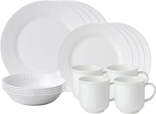Wedgwood 16 Piece Nantucket Basket Set, White