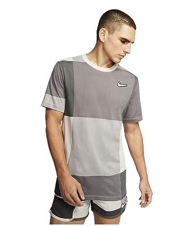 Nike Dry Tee Wild Run 2 (Grey Fog) Men