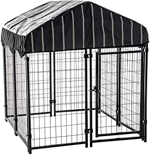 lucky dog welded kennel