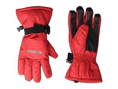 Columbia Kids Whirlibird Gloves (Big Kids) (Mountain Red) Ski Gloves