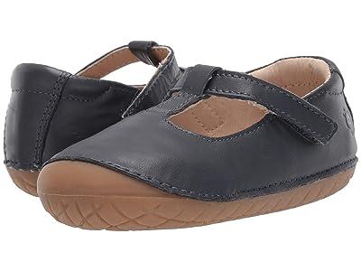 Old Soles T-2 Shoe (Infant/Toddler) (Navy) Girl