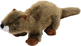 SmartPetLove - Tender-Tuffs Realistic Nature Stuffed Toy - Large Plush Brown Otter Tough Dog Toy with Puncture Resistant S...