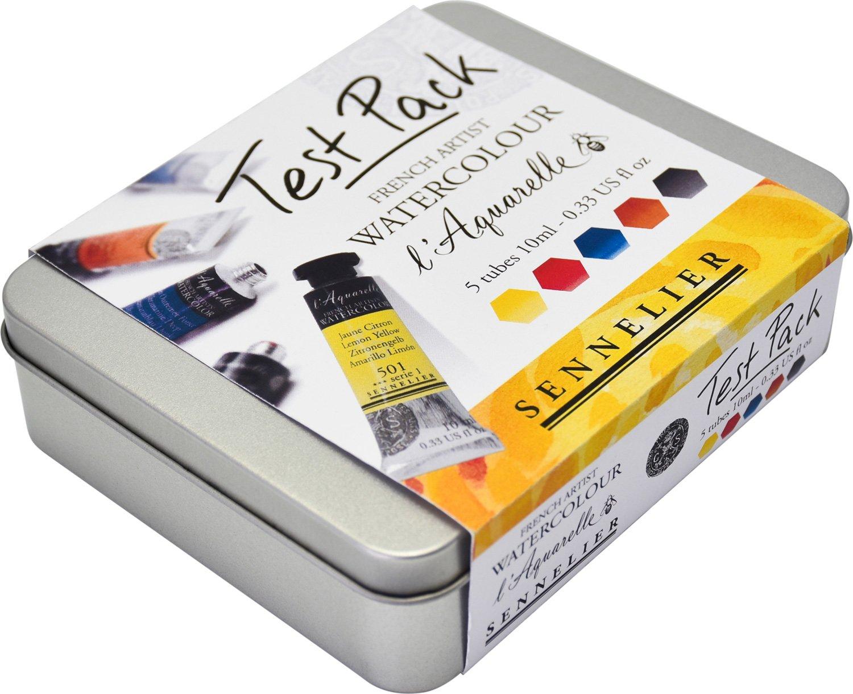 Sennelier acuarela de calidad para artistas Pack de prueba tubos de 10 ml: Amazon.es: Juguetes y juegos