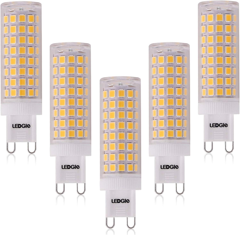 LEDGLE 9W G9 LED Lampen Warmweiß 9K Kein Flimmern, Nicht ...